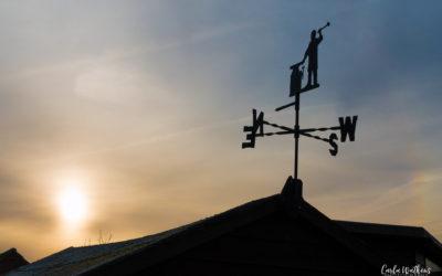 Weathervane at Dawn – 1/50