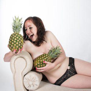 Boudoir pineapples | carlawatkinsphotography.com