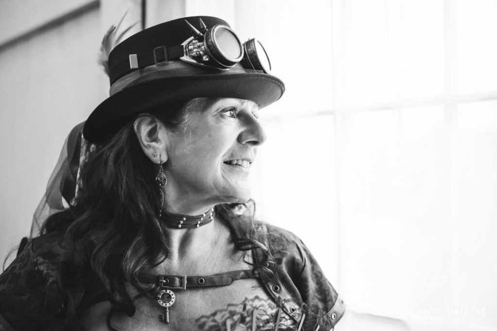 Steampunk studio shoot | carlawatkinsphotography.com