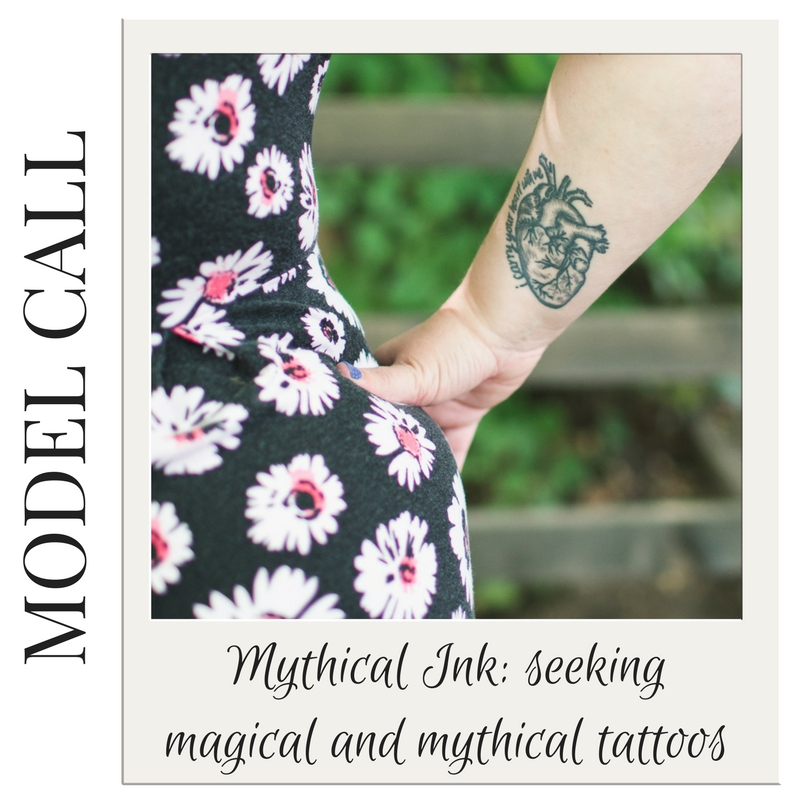 Model Call  Mythical Ink - magical and mythical tattoos | carlawatkinsphotography.com